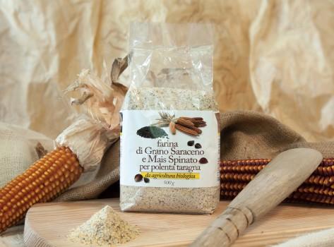 Farina di grano saraceno e Mais Spinato della Bergamasca