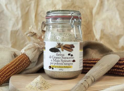 Farina di grano saraceno e Mais Spinato della Bergamasca - vetro